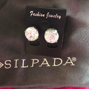 Silpada P2381 Crown Jewel Studs